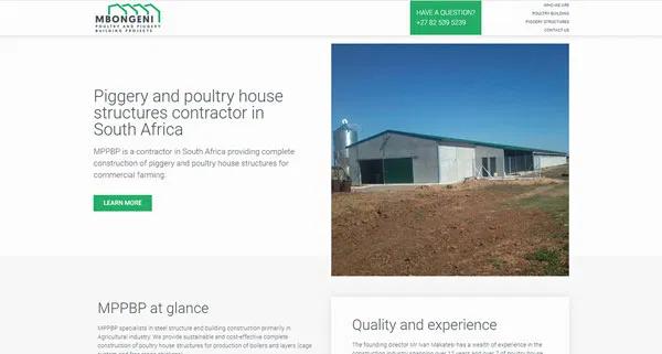Mppbp Website Designed By 2colour Bean In 2020 Website Design Design Poultry House