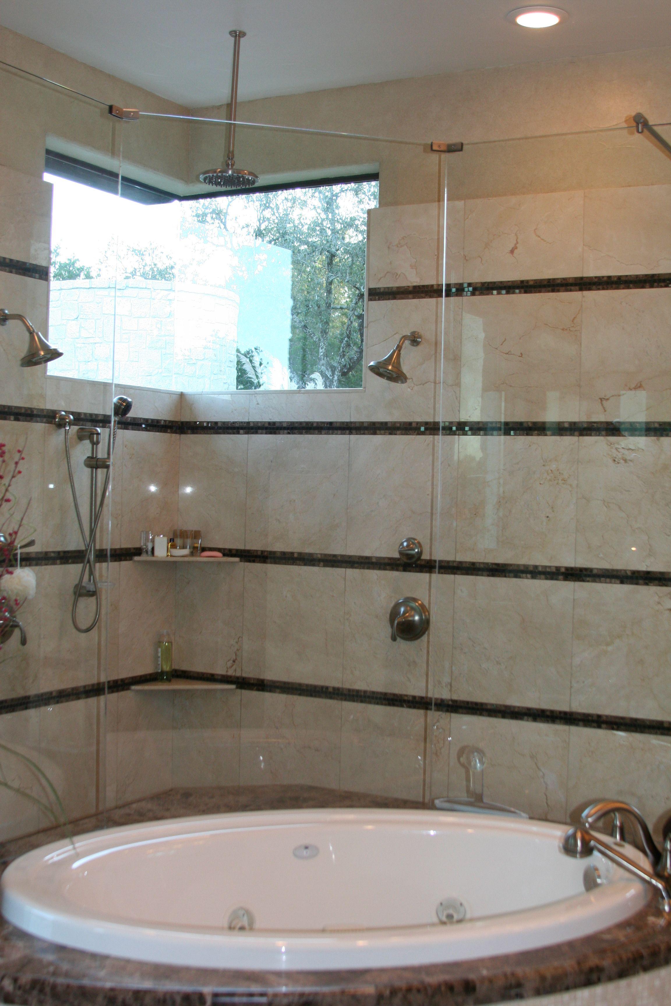 Master Bath Stadler Custom Homes #stadler #custom #home #master #shower #