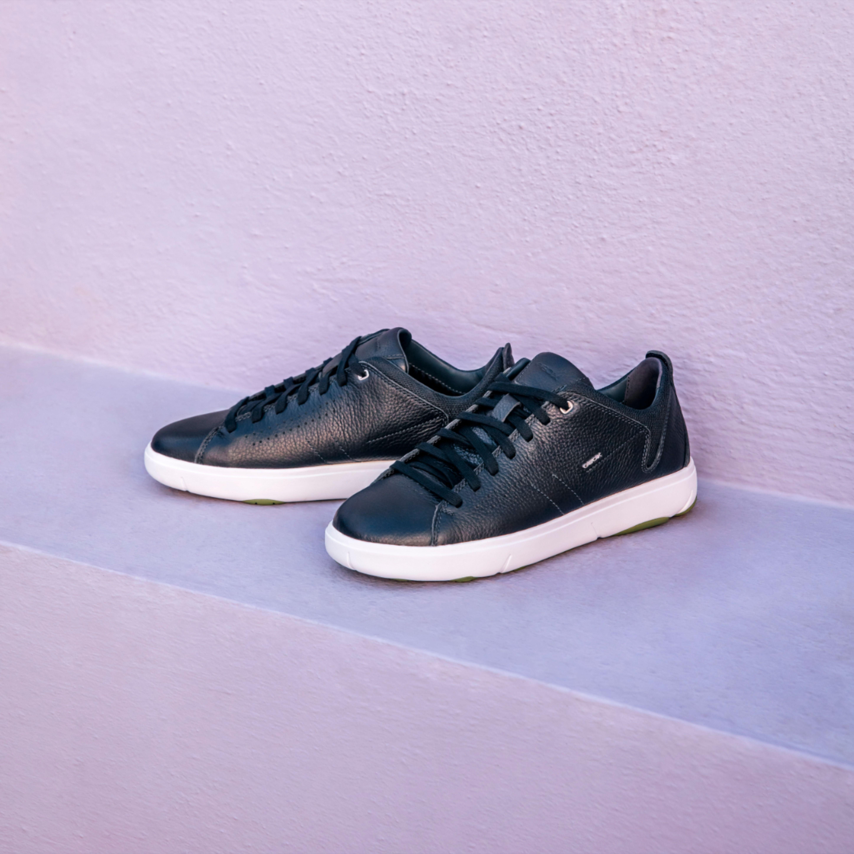 tono pintar condón  Spring Sporty Vibes | Navy blue sneakers, Sneakers, Geox
