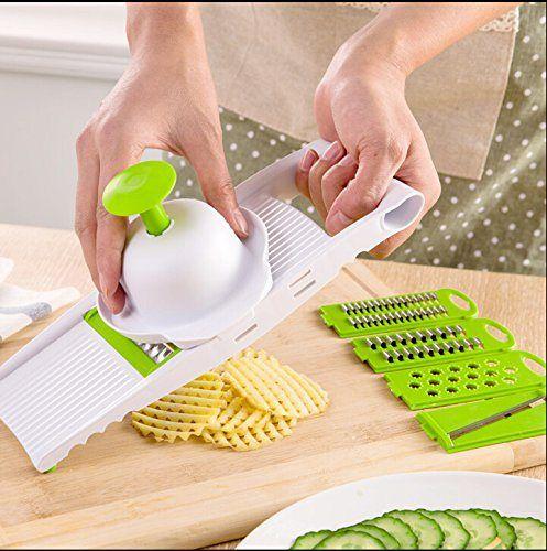 Mkono The 5 In 1 All Purpose Mandolin Super Slicer Grater Cutter Shredder Slicing Set Kitchen Gadgets Funky Kitchen Gadgets Cool Kitchen Gadgets Kitchen Tools And Gadgets Kitchen Gadgets