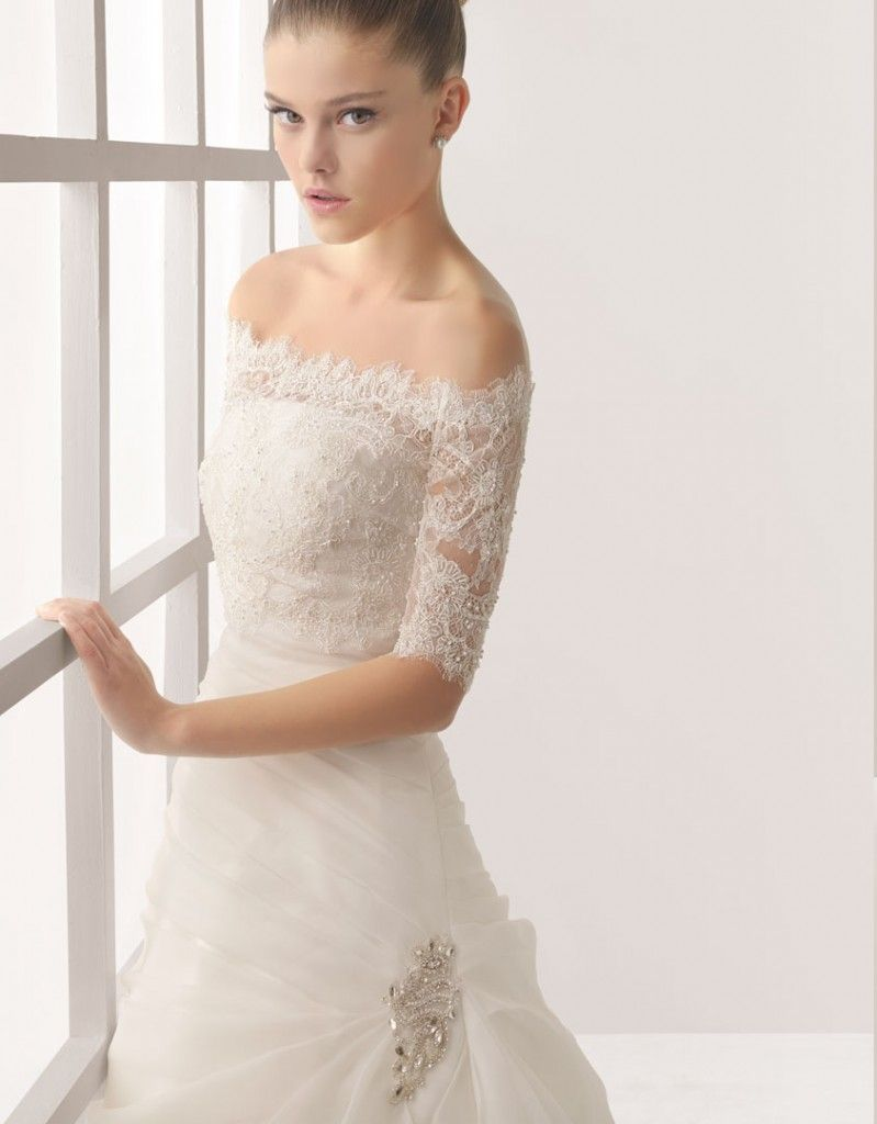 Vestido de encaje para novia