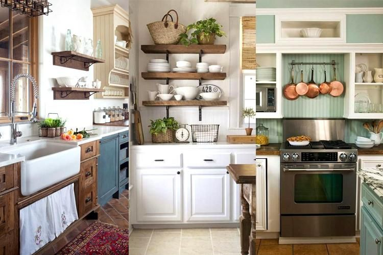 30+ Wonderful Farmhouse Kitchen Ideas on Budget | Budget ...