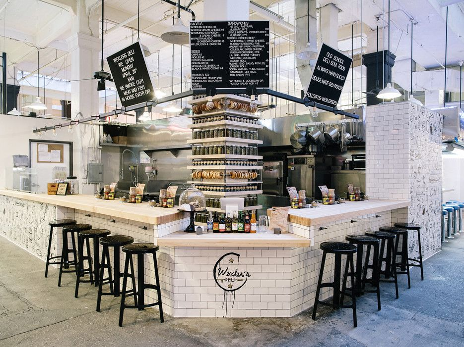 No Visit To Los Angeles Is Complete Without A Stop At Grand Central Market The Recently Renovated Food Market Now Houses Deli Style Kitchen Styling Restaurant