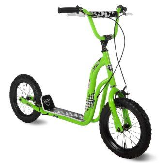 Amazon.com: Kent 14in Lime Green Super Scooter:  For Q?