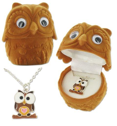 owl pendant   <3