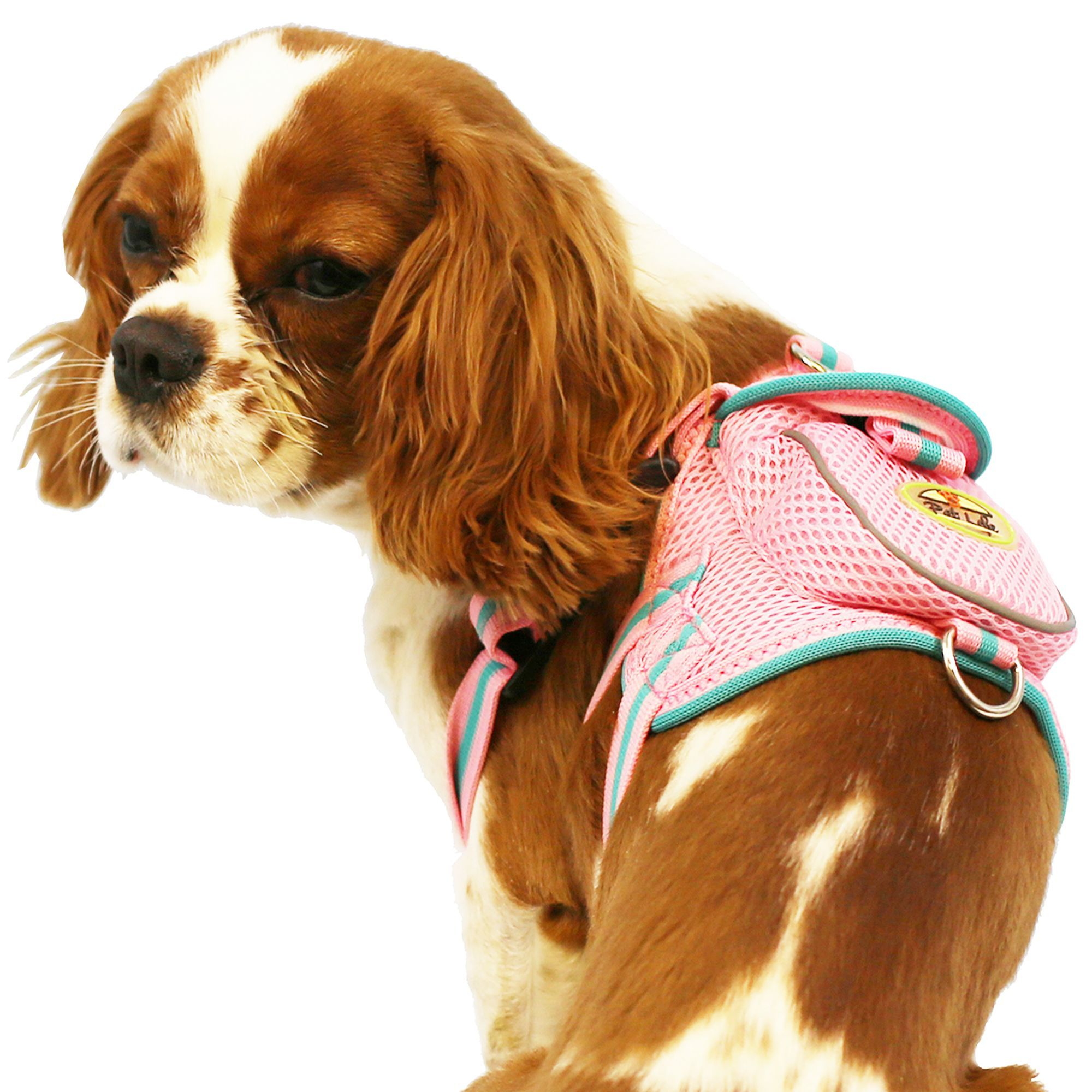Pet Life Pet Harness With Pouch Size Medium Pink Pet Life Dog