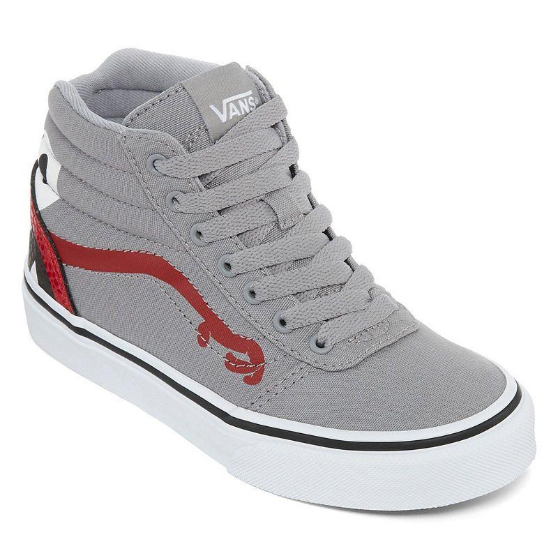 7e2397f8ca Vans Ward Hi Boys Skate Shoes Lace-up - Big Kids