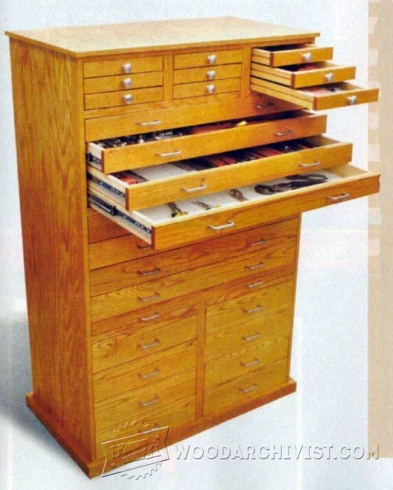Ginormous Shop Cabinet Plans