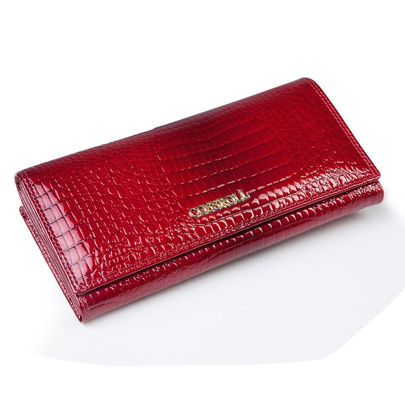 07f438cd9d3e $28.56 - Cool famous brand women wallets genuine leather long purse ...