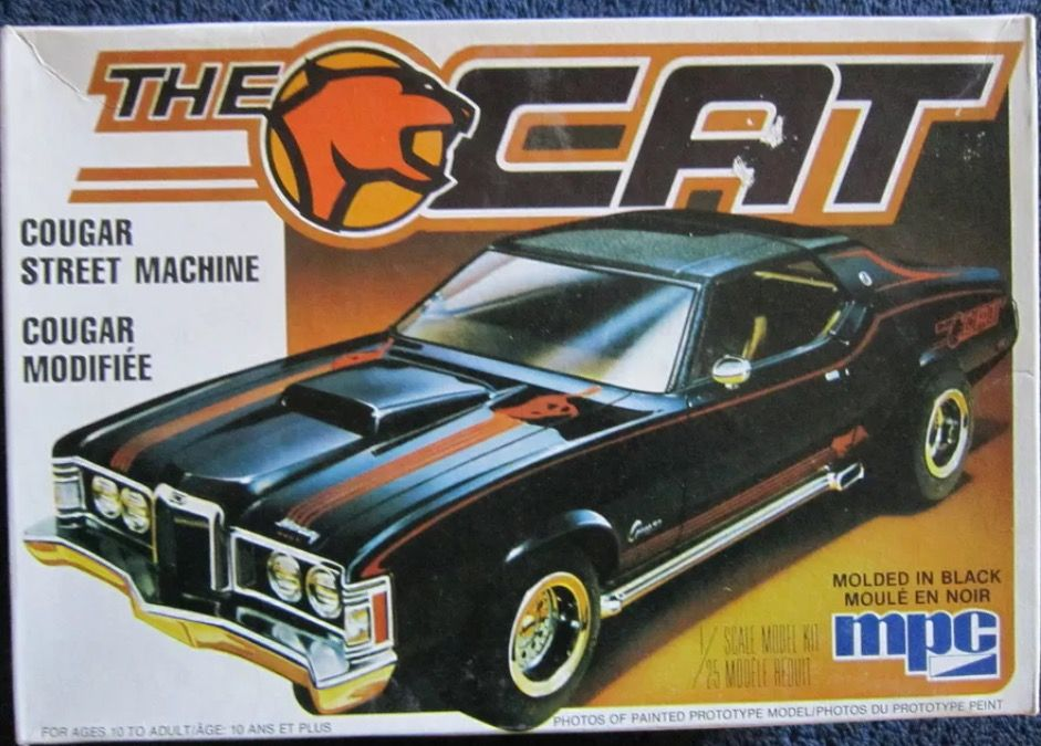 MPC The Cat | Model cars kits