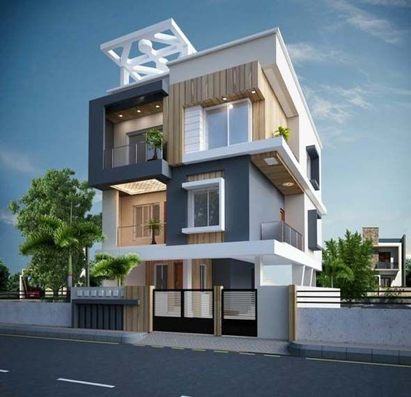 Residential house elevation design also home decoration ideas pinterest rh