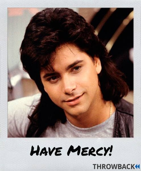 No One Has Ever Looked Better In A Mullet Than John Stamos AKA Uncle Jesse