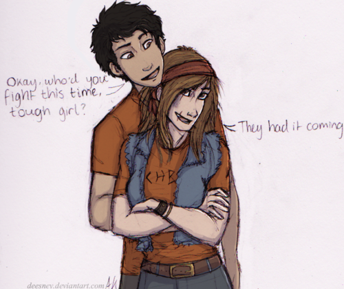 FEELS  Chris Rodriguez and Clarisse La Rue  | Percy Jackson | Percy