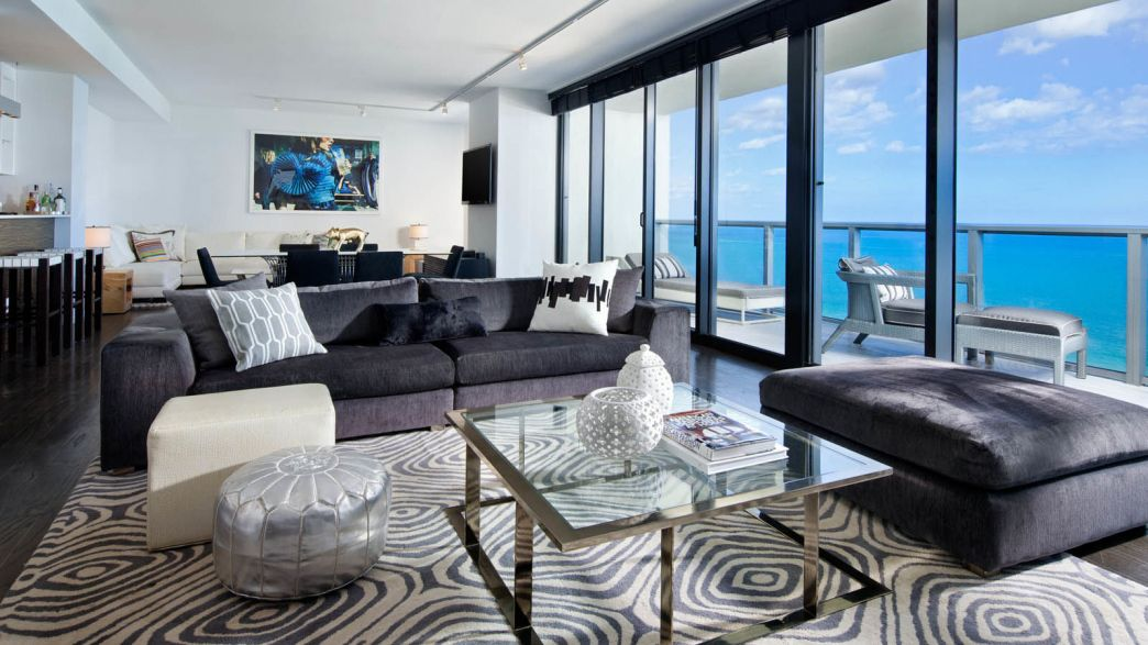 Attractive 3 Bedroom Suites In South Beach Miami   Interior Design Bedroom Ideas On A  Budget Check