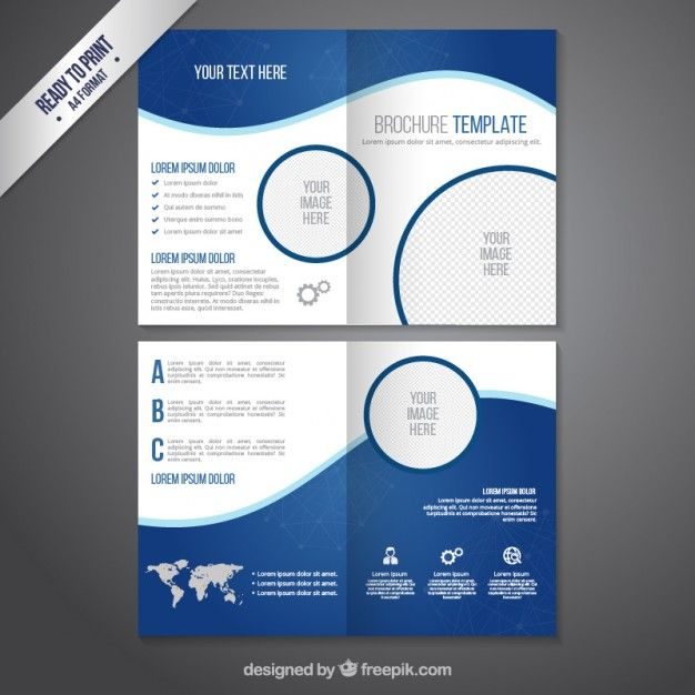 1 Page Brochure Template. single page brochure templates psd ...