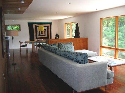 Modern Living Room By Charlton Bradsher Art + Design, Interior Design,  Asheville