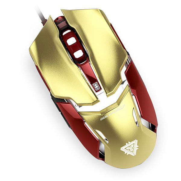 810fd27846d Iron Man Wired Gaming Mouse | Iron Man | Iron man, Geek fashion ...