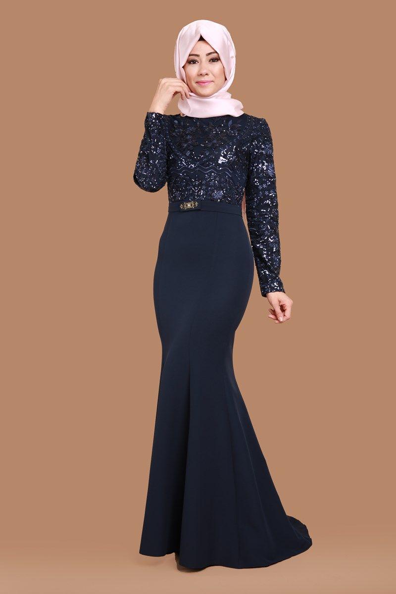 Hasret Pul Payetli Balik Abiye Laci Urun Kodu Ygs32431 169 90 Tl Abaya Tarzi Tig Isi Elbiseler The Dress