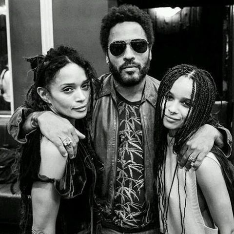 17 Times Zoe Kravitz Lisa Bonet S On Fleek Family Genes