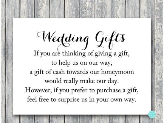 Black And White Decoration Signs Honeymoon Fund Wedding