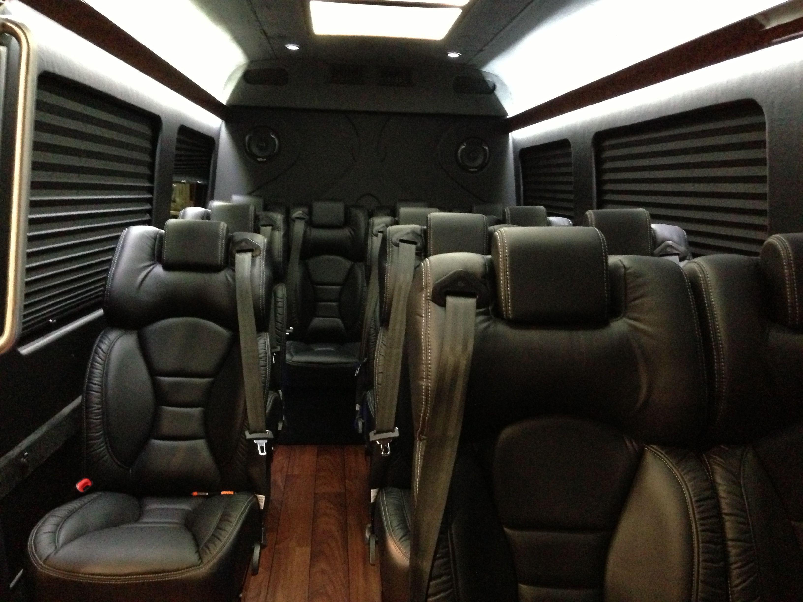 Mercedes sprinter mini bus interior inviting interiors for Mercedes benz van interior