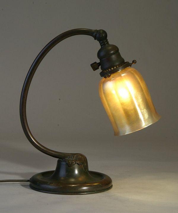 Vintage Bronze Desk Lamp