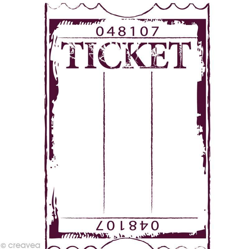 Stampo\'maxi 15 x 10 cm Ticket | Ausdrucken