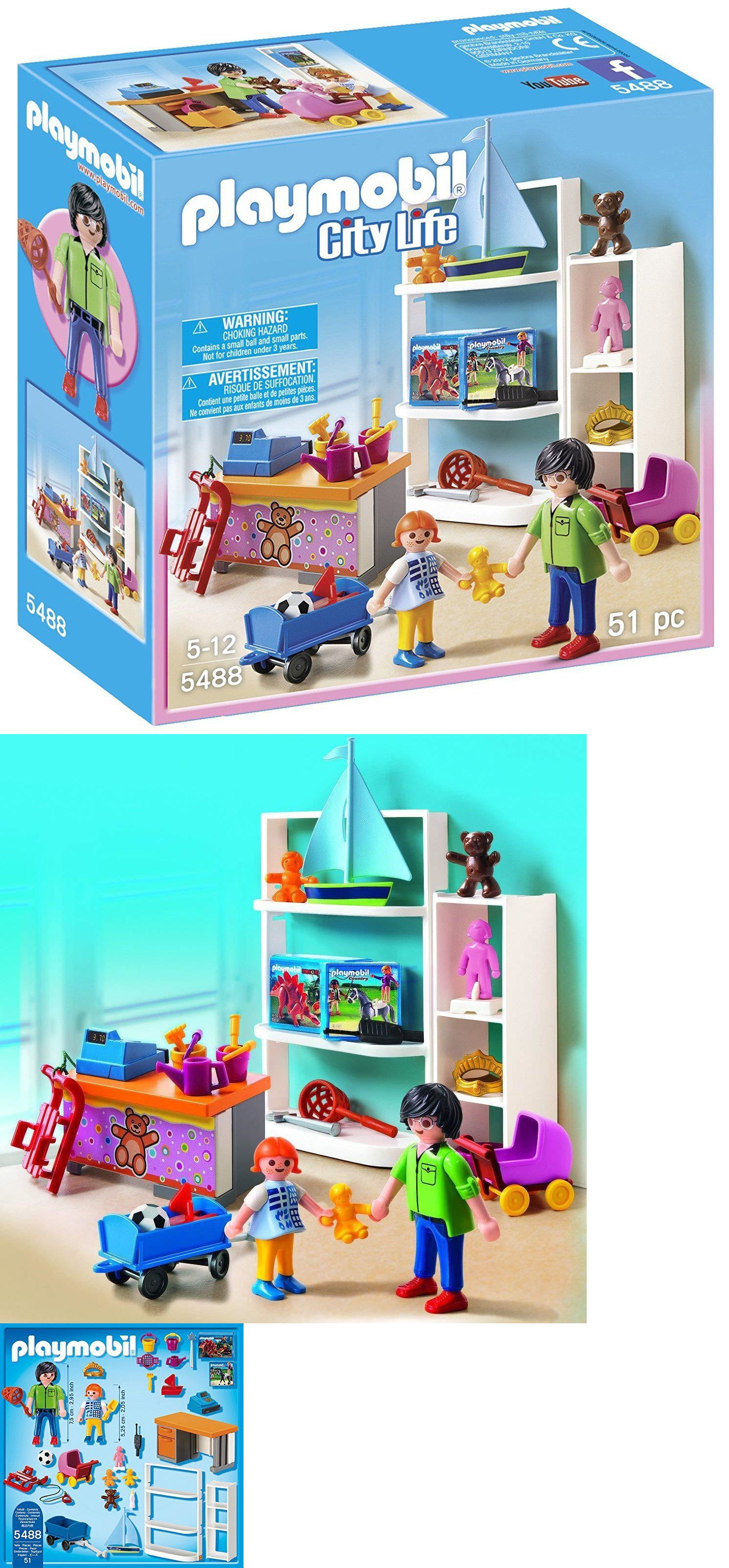Playmobil 19854 Playmobil 5488 City Life Toy Shop Playset 51 Pc New Sealed Buy It Now Only 24 9 On Ebay Playmobil Pl Playmobil Mall Stores Playset