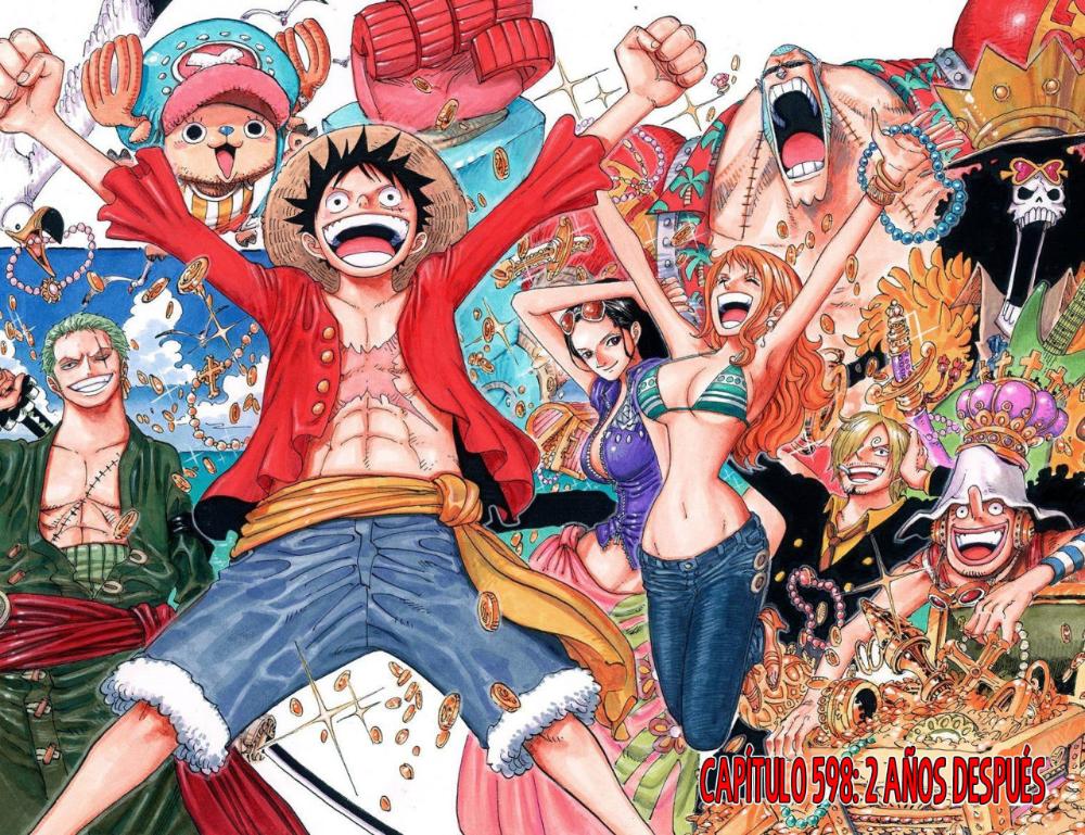 One Piece (full color) - - Capítulo 598.00: Dos años ...