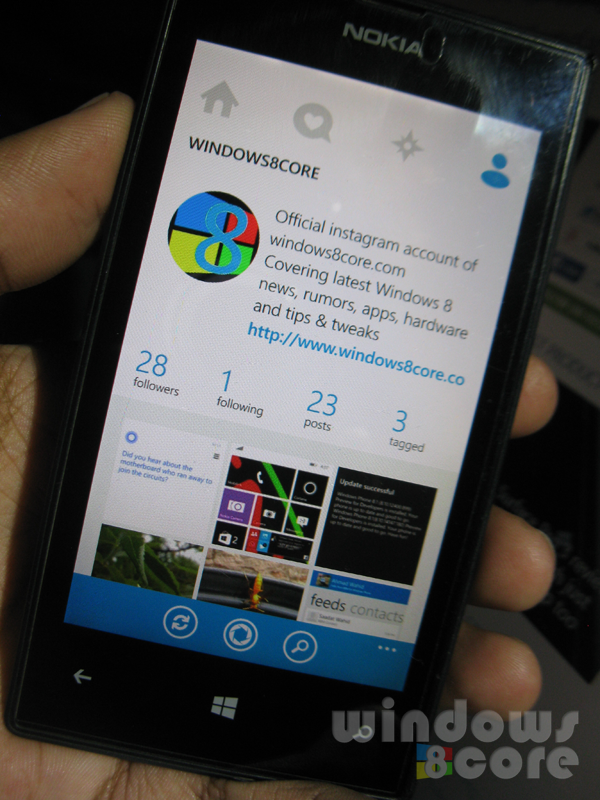 6tag, the popular third party Instagram client app for Windows Phone 8.1  updated with location