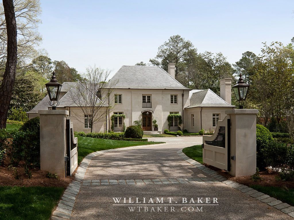 Best William T Baker Houses French Style Homes Stucco Houses 400 x 300