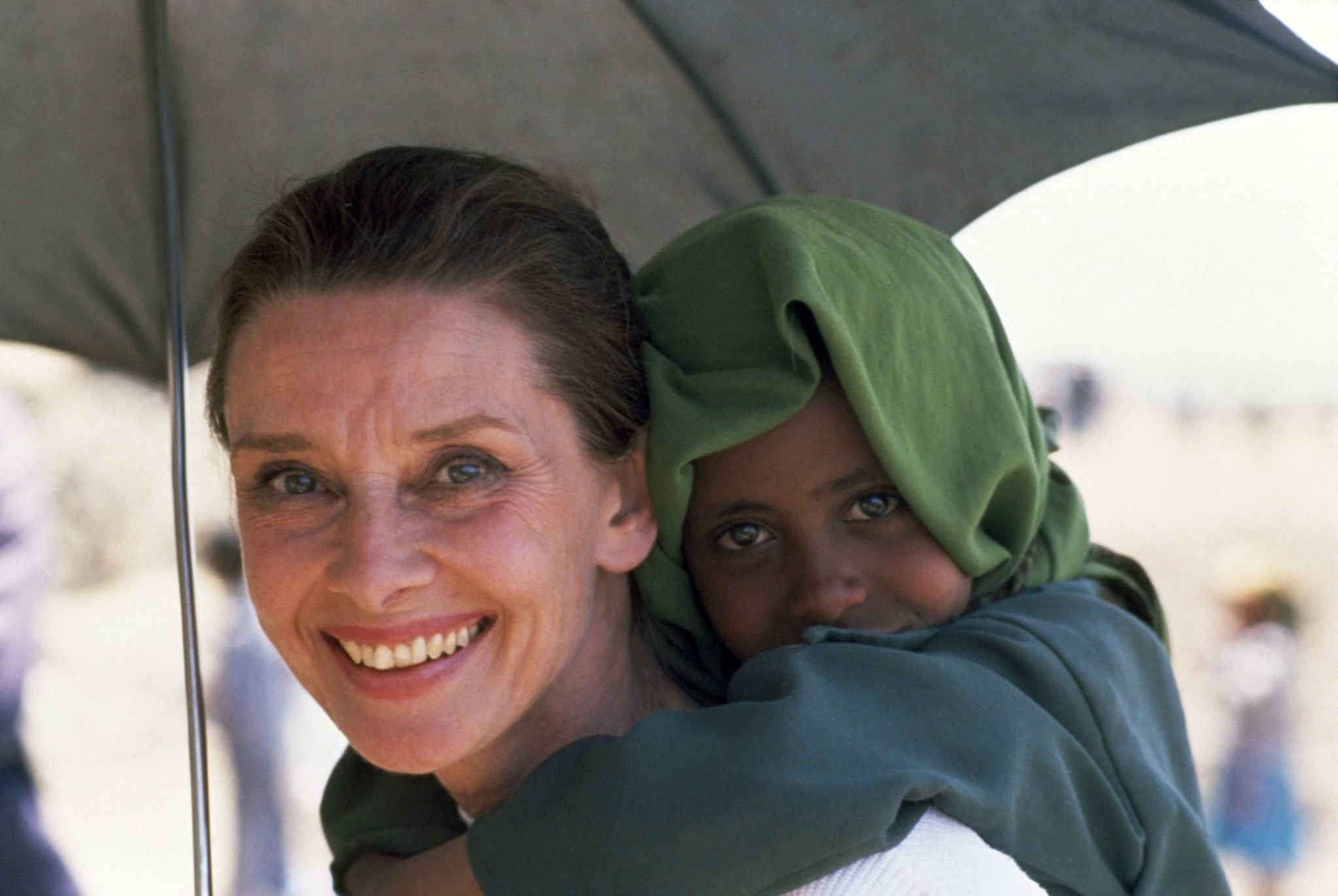 'Audrey Hepburn  went on a mission to Ethiopia'