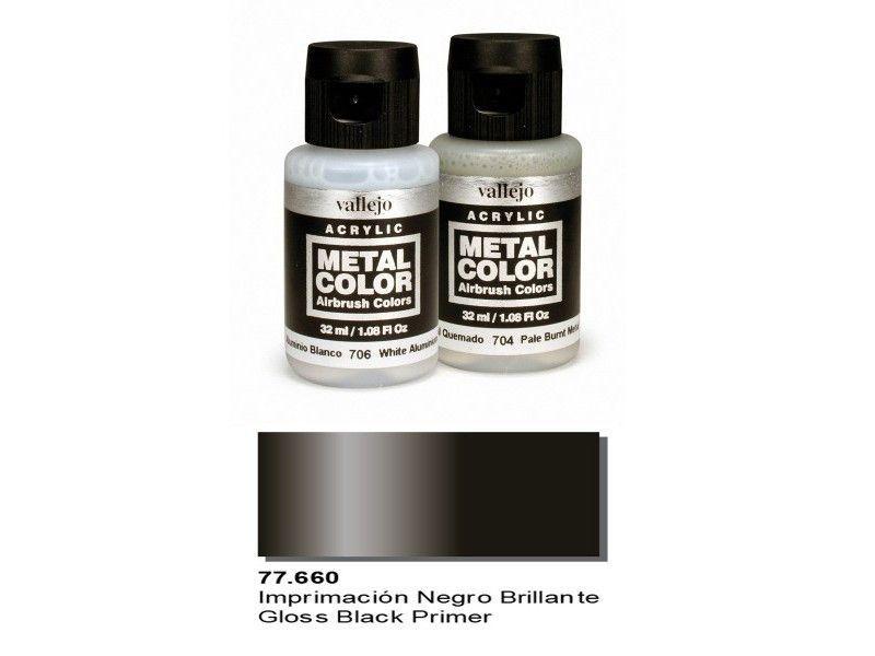 VAL77660 Vallejo Gloss Black Primer