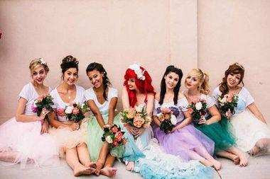 So Wurde Arielle Heiraten Disney Hochzeitsideen Meerjungfrau Hochzeit Heiraten