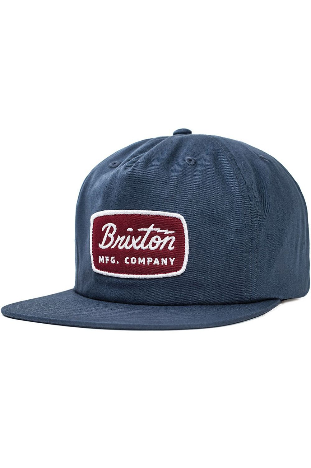 56a9274ea3f The Jolt HP from Brixton is a five-panel cut and sew cotton ...
