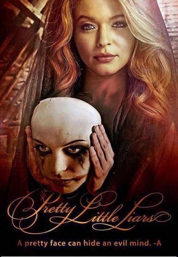 """""""A pretty face can hide an evil mind."""" Pretty little liars"""