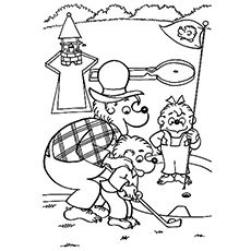 Top 25 Free Printable Berenstain Bears Coloring Pages Online Bear Coloring Pages Berenstain Bears Coloring Pages