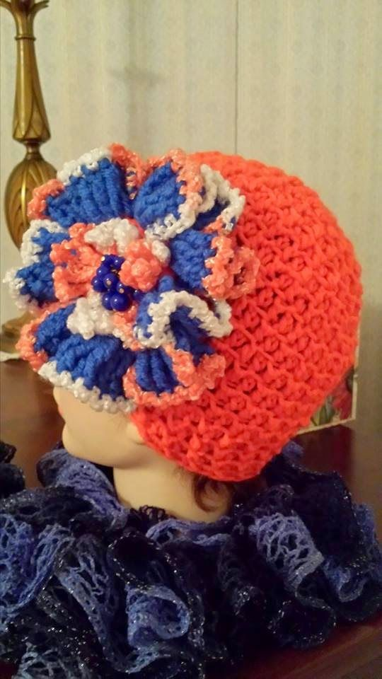Free crochet Mad Hat Mama: It\'s a Mad Hat Chemo Beanie pattern ...