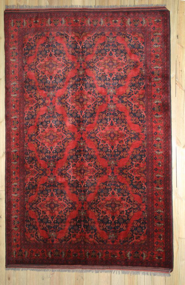 A Khal Mohammadi Rug Famous Of Afghanistan Woven With Natural Dyes