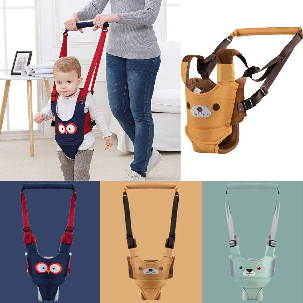 Baby Walker Assistant Harness Safety Toddler Belt Walking Wing Infant Kid Safe