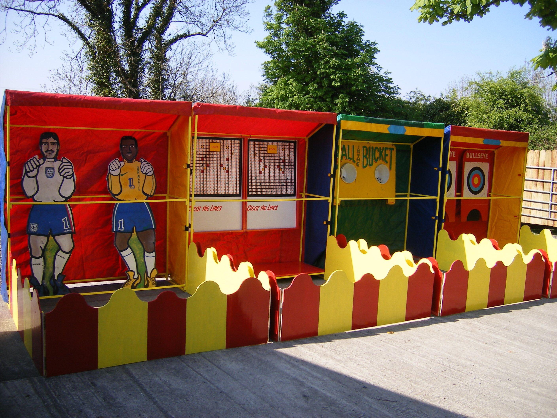 Barricade Booths Carnival Games Fun Halloween