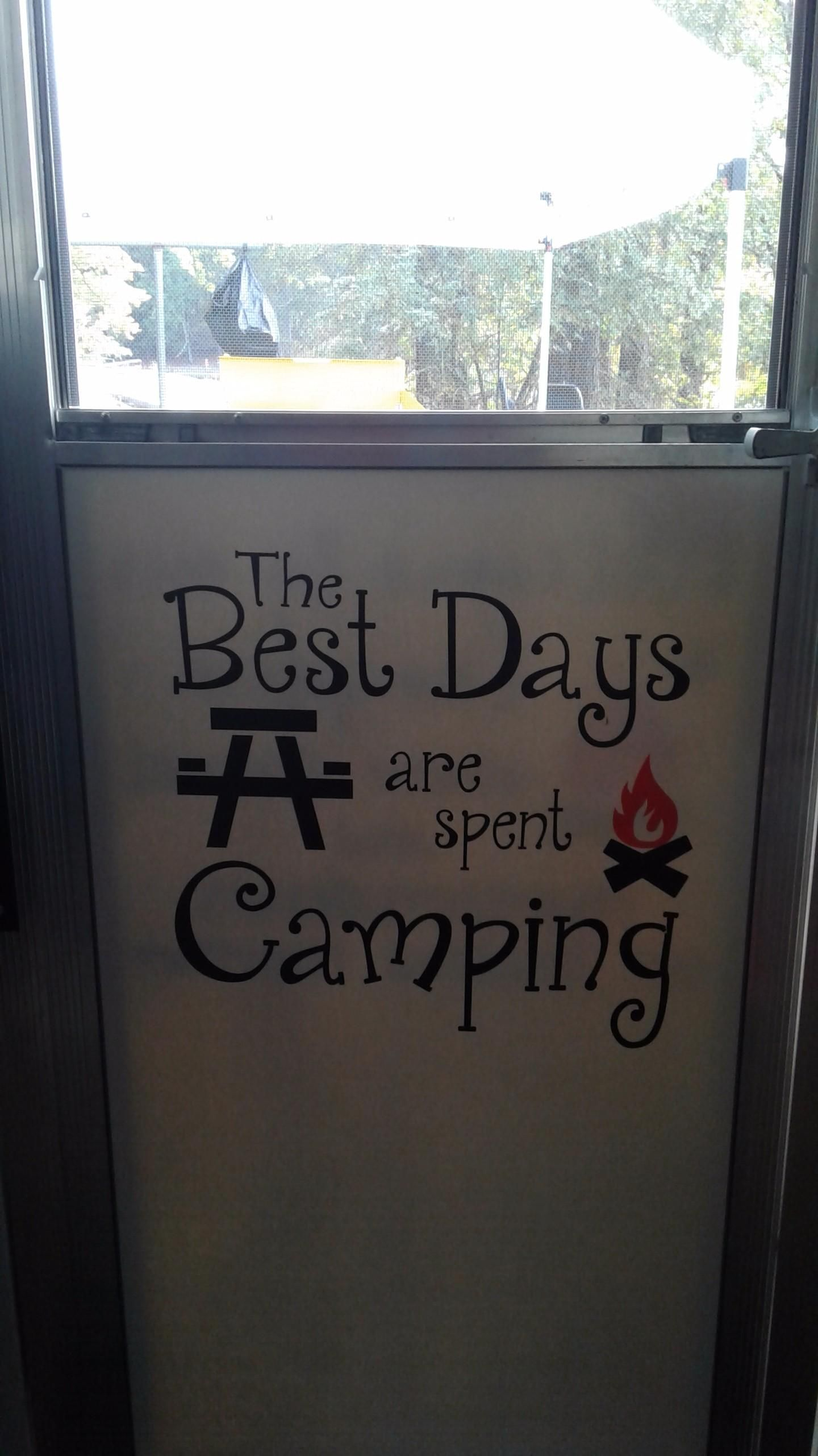 Best days camping days share a picture of your completed project featuring wall decor plus more products and receive 30 off your next order