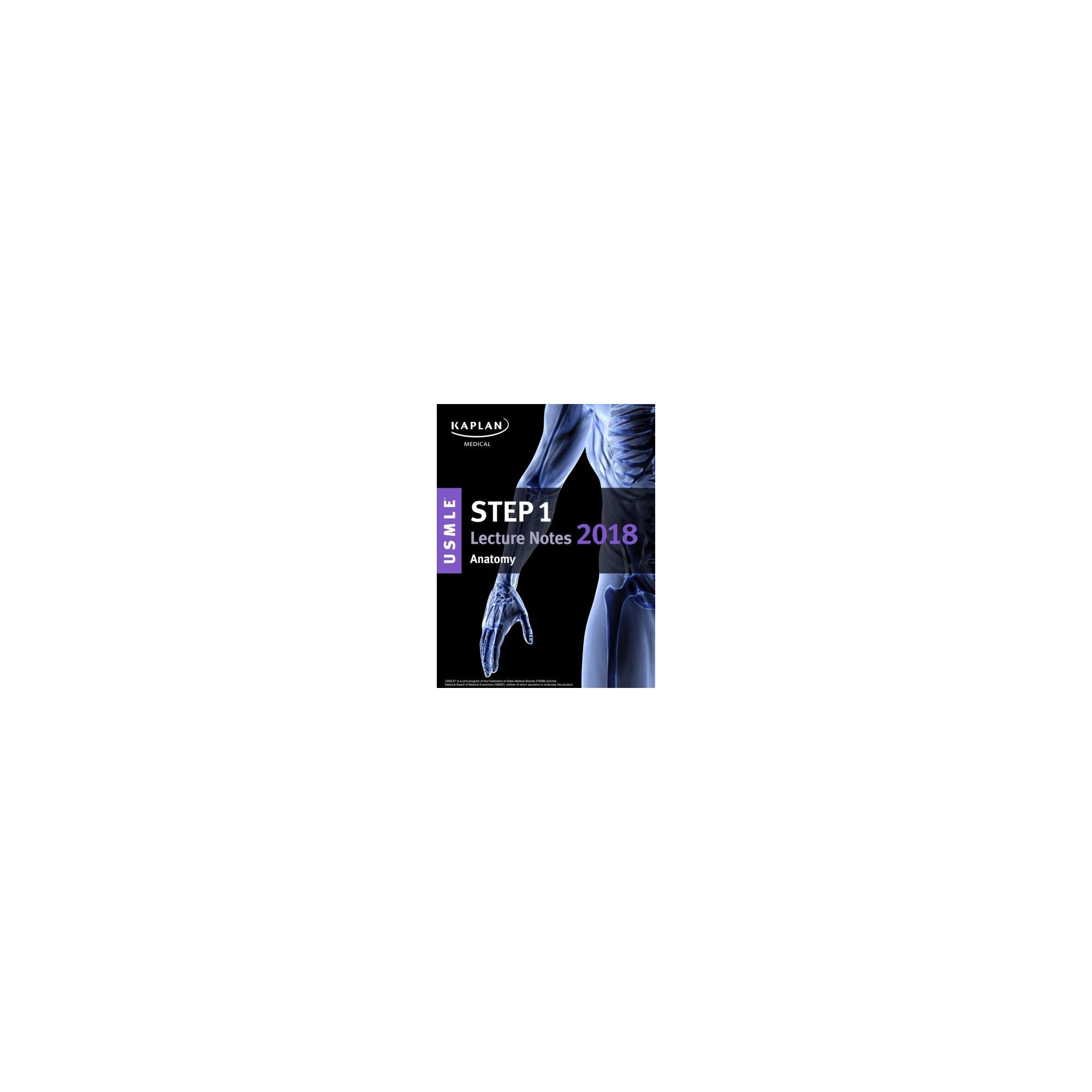 Kaplan Usmle Step 1 Anatomy Lecture Notes 2018 (Paperback) | Note ...