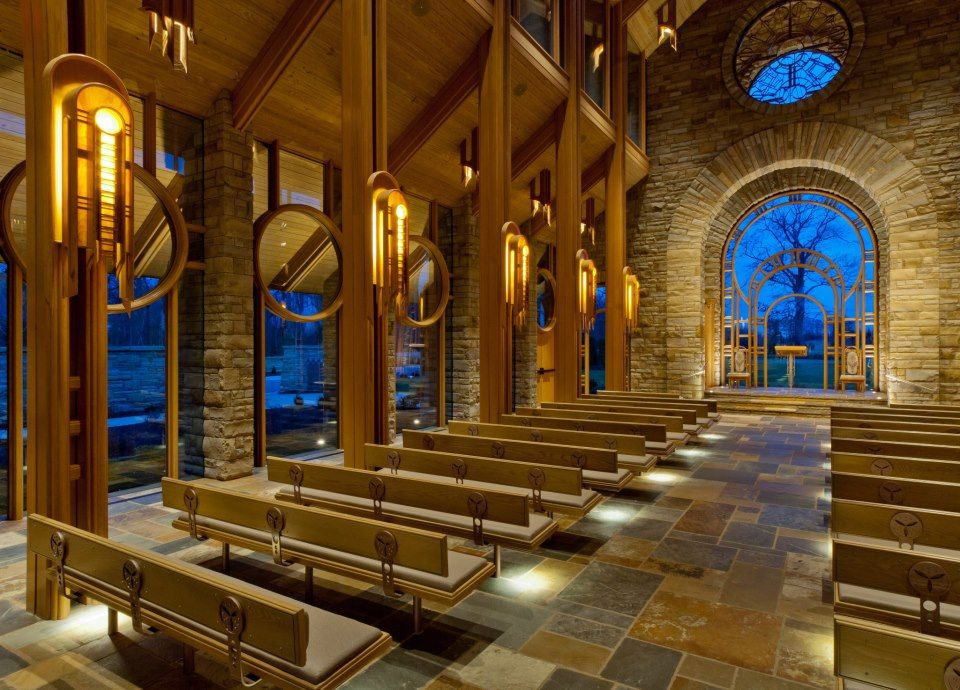 Jb hunt memorial chapel located in rogers ar one of