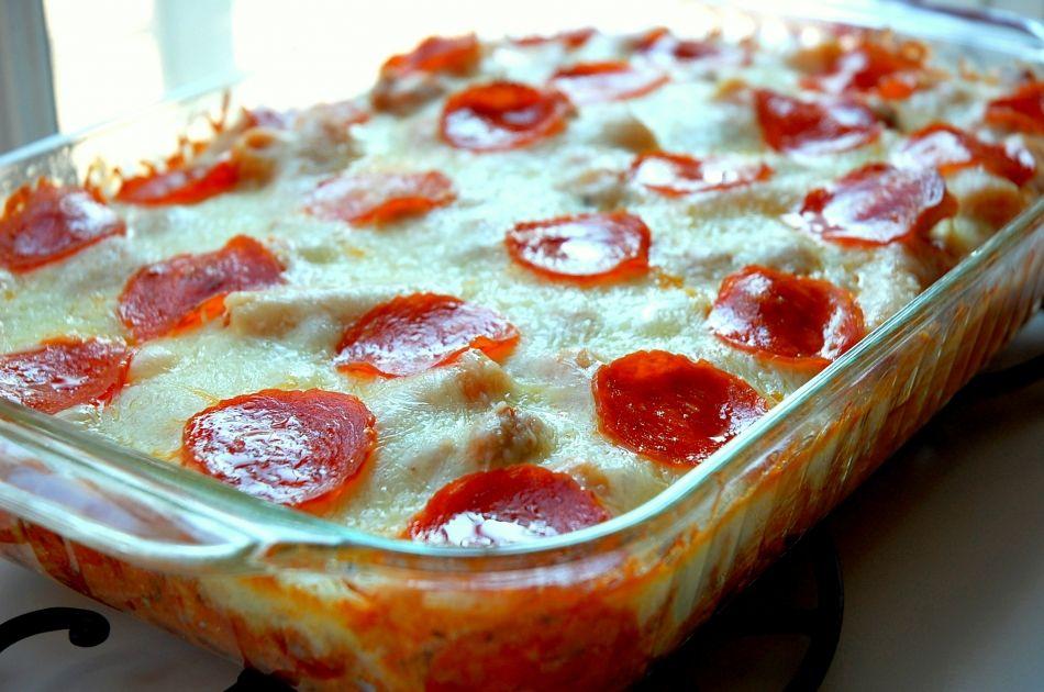 Pepperoni Pizza Casserole - All food recipe network