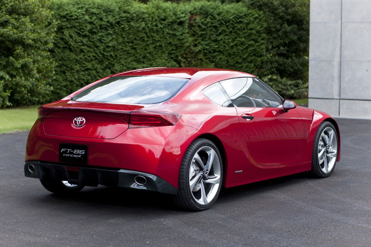 Toyota Ft 86 >> Toyota Ft 86 Concept Concept Cars