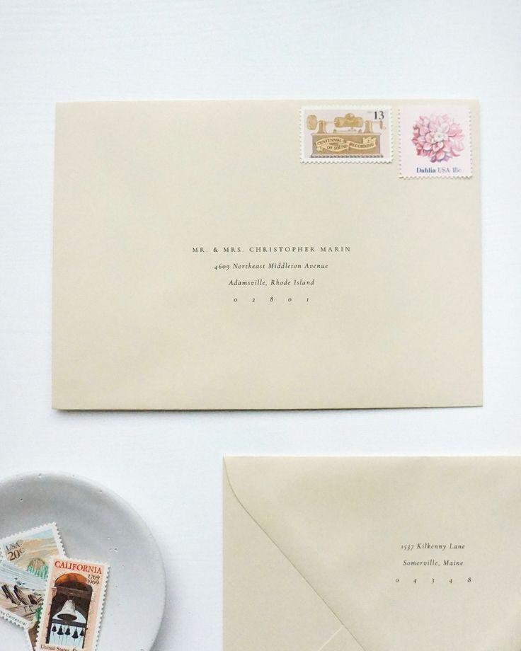 Gatherie Creative Envelope Guest Addressing Wedding Invitation Stamp Addressing Envelopes Printed Envelopes