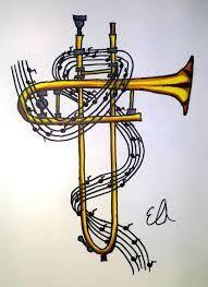 Afbeeldingsresultaat Voor Trombone Wallpaper Arte Del Jazz Trombon Serigrafia