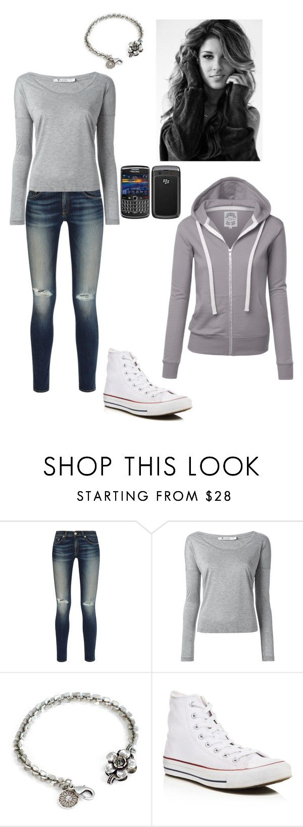"""""""Victoria Xavier"""" by haley-bob1 ❤ liked on Polyvore featuring rag & bone, T By Alexander Wang, Sweet Romance, Converse and Karta"""