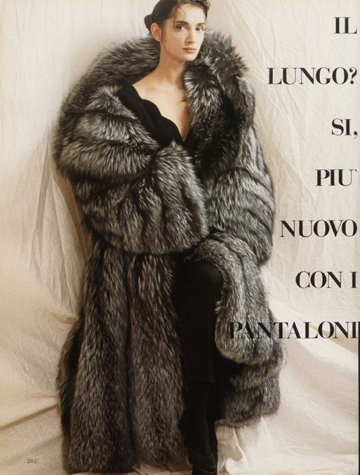 huge silver fox fur coat | silver fox: the land of dramatic ...
